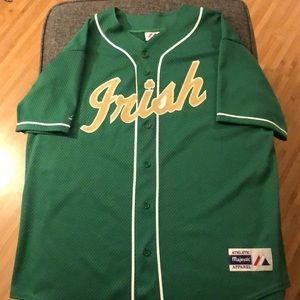 Vintage Notre Dame Fighting Irish Majestic Jersey